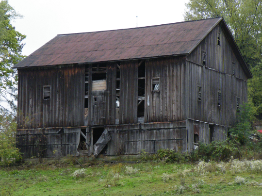Barn Before Repairs