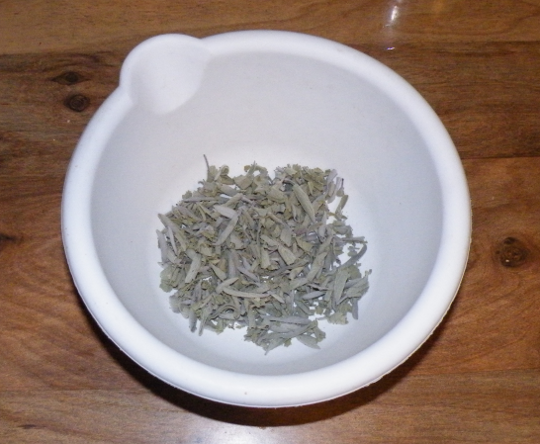 Dried Sage Leaves