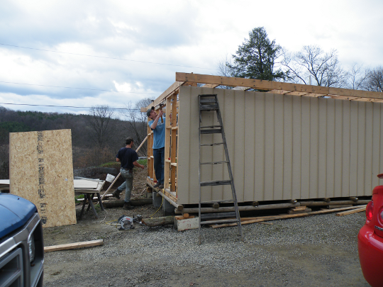 Preparing for Sheeting